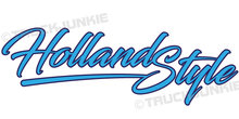 HOLLAND STYLE STICKER RAAMSTICKER AUFKLEBER