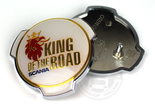 KING OF THE ROAD EMBLEEM SCANIA GRILL