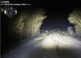 Orion+ LEDSON LED VERSTRALER 100W - AMBER / WIT positielicht_