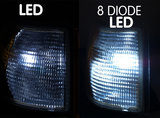 R5W - LED lamp xenon - 8 diode_