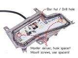 Foglight Scania flasher strobe