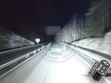 "LEDSON Pollux9+ - 9"" LED VERSTRALER - ORANJE/WIT POSITIELICHTEN - 120W - DRIVING BEAM_"