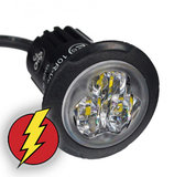 LED FLITSER - HIDE AWAY - AXITECH UR03  ECE R65 - ORANJE_