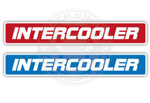 INTERCOOLER 25CM - FULL PRINT STICKER