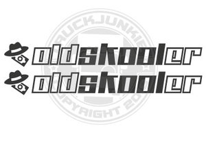 OLDSKOOLER - STICKER