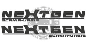 NEXTGEN SV - STICKER