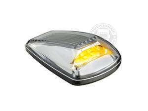 LED TOPLAMP / MARKERINGSLAMP - 9-32V -  HELDER GLAS