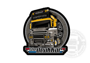 THE DRAKKAR-SCANIA R - FULL PRINT STICKER
