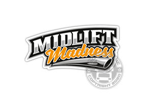 MIDLIFT MADNESS - FULL PRINT STICKER