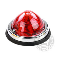 HELLA - LAMP OPBOUW ROOD - Ø70mm