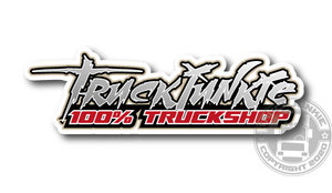100% TRUCKSHOP - FULL PRINT STICKER