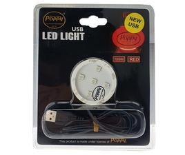POPPY LED - ROOD - USB - 12-24V
