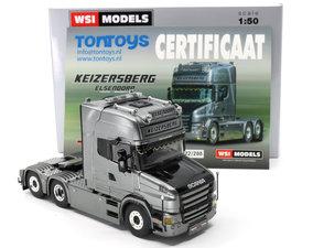 WSI - KEIZERSBERG - SCANIA T6 TORPEDO TOPLINE 6X2 - 1:50