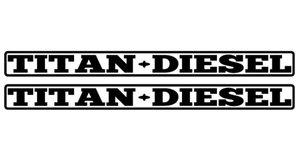 TITAN DIESEL - STICKER