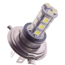 H4 LED-lamp XENON LOOK 18 SMD 24V