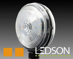 SPAANSE LAMP LED - HELDER/ORANJE