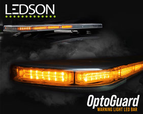 LEDSON OptoGuard - WARNING LIGHT BAR (ECE R65/R10)