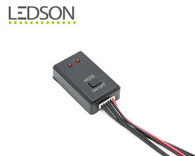 LED STROBE CONTROLLER  - 10 LICHTPATRONEN