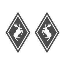 HOEKSCHILD STICKER -  VOLVO ELAND