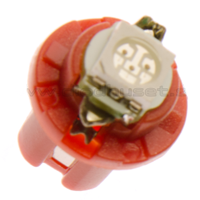 B8,5d Intrumenten verlichting LED - high power - ROOD
