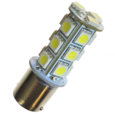 LED-LAMP XENON LOOK - 360  13 DIODE  P21W  BA15s
