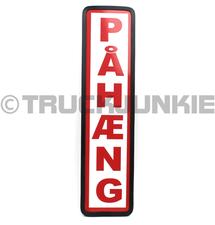 PAHAENG BORD ROOD - 40X10CM