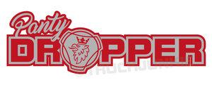 SC PANTY DROPPER -TWO-TONE- STICKER