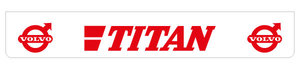 TITAN 250X40 SPATLAP - ACHTERBUMPER - ROOD!