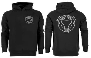 YOUR DESIGN - HOODIE - BACK - SC
