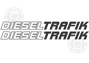 DIESEL TRAFIK - STICKER