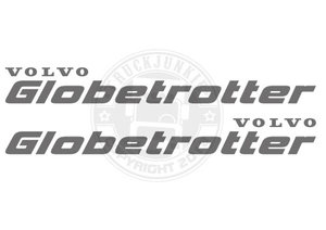 VO GLOBETROTTER STICKER