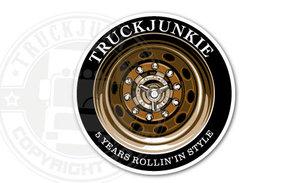 TRUCKJUNKIE 5 YEAR - FULL PRINT STICKER