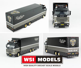 WSI SCALE MODEL 1:50 - THE OLD PIRATE SCANIA 143