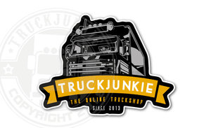 TRUCKJUNKIE - ONLINE TRUCKSHOP 2013 - FULL PRINT STICKER