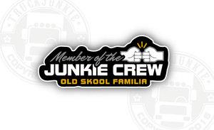 TJ CREW OLDSKOOL FAMILIA - FULL PRINT STICKER