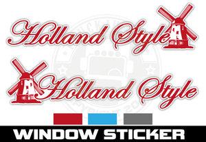 MOLEN HOLLAND STYLE - RAAMSTICKER