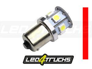ROOD - 9xSMD LED 10-30V - BA15s