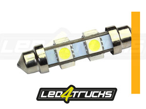 ORANJE - 6xSMD LED 24-28V - FESTOON