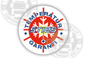 STIES - TEMPERATURE • GARANTI - FULL PRINT STICKER