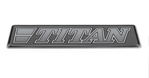 TITAN GRIJS - 3D DELUXE FULL PRINT STICKER