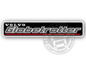 VOLVO GLOBETROTTER - FULL PRINT STICKER