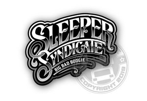 SLEEPER SYNDICATE - FULL PRINT STICKER