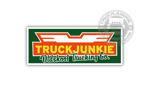 TRUCKJUNKIE BILSPED - FULL PRINT STICKER