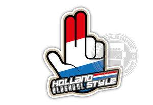 XXL - HOLLAND OLDSKOOL STYE - HOPPA - FULL PRINT STICKER