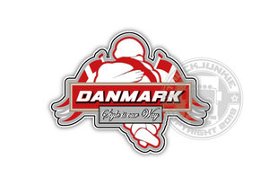DANMARK - STYE IS OUR WAY - FULL PRINT STICKER