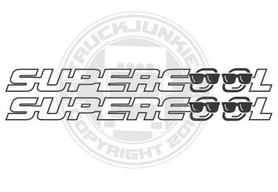 SUPERCOOL - STICKER