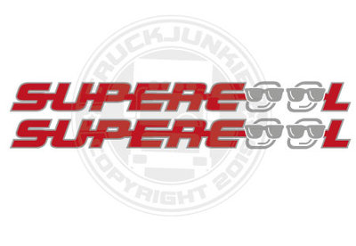 SUPERCOOL - TWEEKLEURIGE STICKER