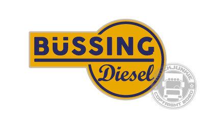 bussing diesel sticker
