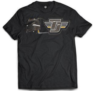 truckjunkie scania 143 shirt t-shirt