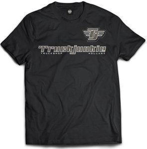 truckjunkie truckshop holland t shirt zwart